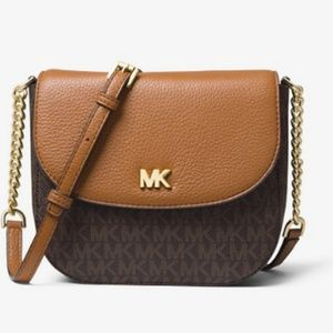 Michael Kors Mott Logo Dome Crossbody